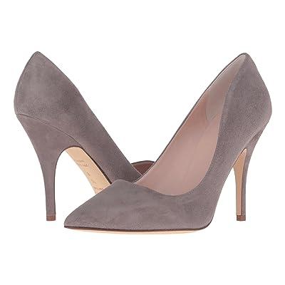 Kate Spade New York Licorice (Portabella Kid Suede) High Heels