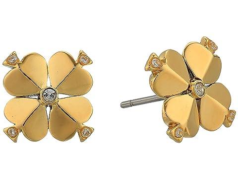 Kate Spade New York Legacy Logo Spade Flower Studs Earrings