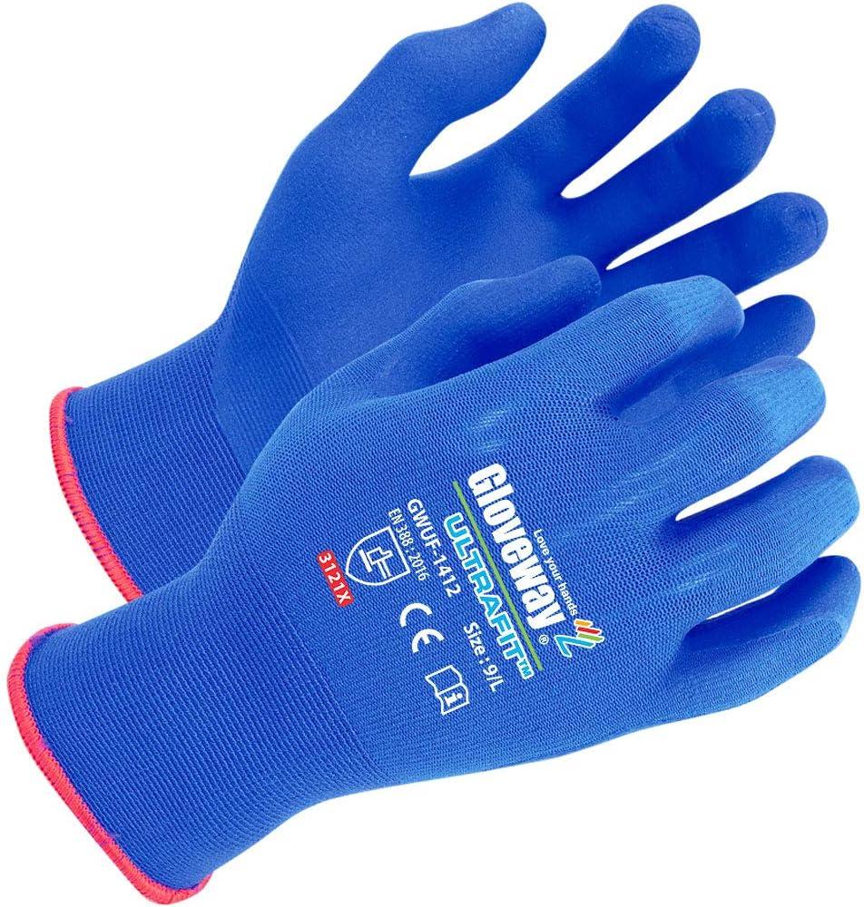 GLOVEWAY Ultrafit - Safety Work A Gardening Time sale Ultra Thin Gloves Super-cheap