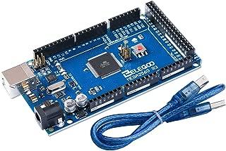ELEGOO MEGA 2560 R3 Board ATmega2560 ATMEGA16U2 + USB Cable Compatible with Arduino IDE, RoHS Compliant