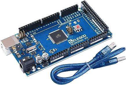 ELEGOO MEGA 2560 R3 Board ATmega2560 ATMEGA16U2 + USB Cable for Arduino Projects RoHS Compliant