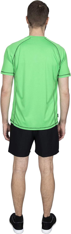 Trespass Albert Camiseta de Secado r/ápido con Mangas Cortas Hombre