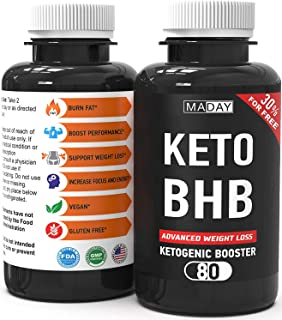Keto Burn Weight Loss Pills - Keto Pills Fat Burners for Women and Fat Burners for Men - Keto Supplements for Ketosis and Keto Fat Burner Pills, Keto Pills Diet - 80 Capsules