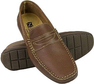 Zerimar Chaussures Bateau en Cuir pour Homme   Chaussures Nautiques Homme   Mocassins Homme   Gandes Tailles 46-50