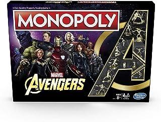 Monopoly: Edición Vengadores de Marvel - Juego de Mesa Recomendado para niños de 8 años en adelante