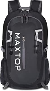 MAXTOP Hiking Backpack 40L Lightweight Packable for Traveling Camping Water Resistant Foldable Outdoor Travel Daypack