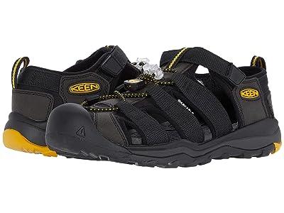Keen Kids Newport Neo H2 (Little Kid/Big Kid) (Black/Keen Yellow) Boy