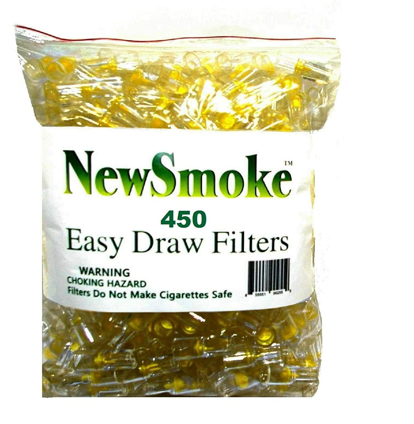 NEW SMOKE Disposable Cigarette Filters Bulk Economy Pack 300 plus 150 FREE BONUS FILTERS/Total 450 filters