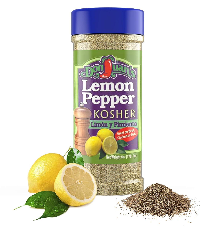 Don Juan's Lemon Pepper Seasoning (6 oz.)
