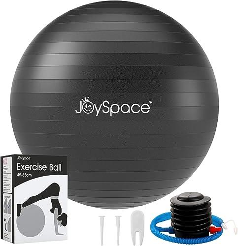 JOYSPACE Ballon Fitness Ballon Grossesse : Ballon de Gymnastique Antidérapant   Anti-éclatement Swiss Ball pour Fitne...