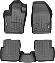 WeatherTech Custom Fit FloorLiner for Fiat 500X - 1st & 2nd Row (Black)