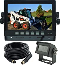 "$149 » 7"" Wired Monitor Rear View Backup Camera System for Farm Tractor, Truck, RV, Forklift, Heavy Equipment, EXCAVTORS, Skid Steer"