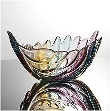 Creatieve Blad Glas Gedroogde Fruitschaal Fruitschaal Woonkamer Thuis Snoep Plaat (Kleur: C)