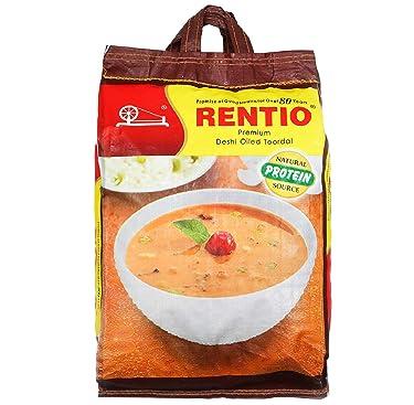 RENTIO Premium Deshi Oiled Toor Dal 10 KG
