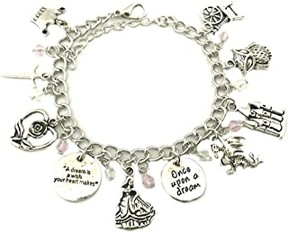 sleeping beauty charm bracelet