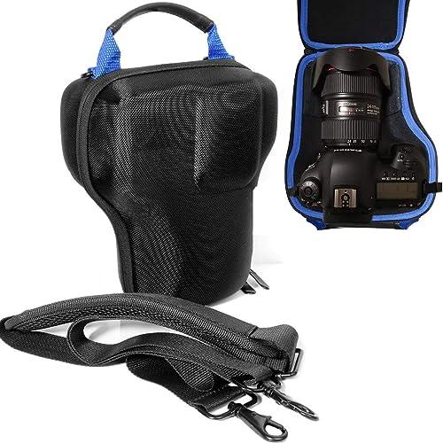 popular WGear DSLR Camera Lens kit Semi Hard Case for Canon EOS 7D 6D 5D Mark II III IV 5DS R EF 24-105mm f/4 F4 L is USM online sale EF 24-70mm f/2.8L sale II USM DSLR Lens Kit, Strong, Removal Padding, Hand/Shoulder Strap outlet sale