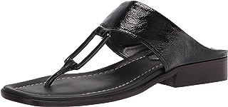 Donald J Pliner Women's Heeled Sandal, Black, 10