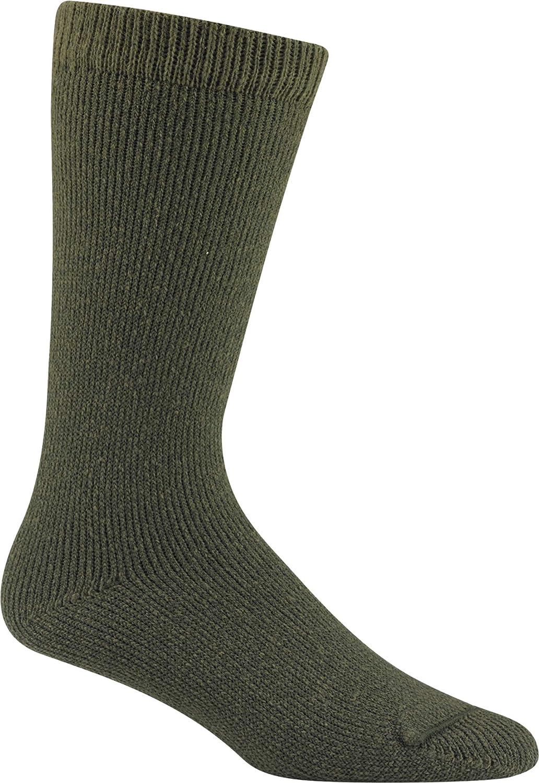 Wigwam 40 Below Il Wool Socks Green Over the Calf For Men/&Women Medium USA Made