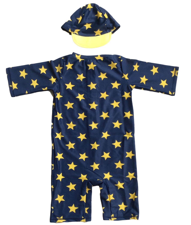 LianライフスタイルBoy 's 2個Swim Set , UPF 50?+太陽保護Star