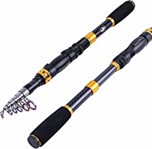 Sougayilang Telescopic Fishing Rod - 24 Ton Carbon Fiber...
