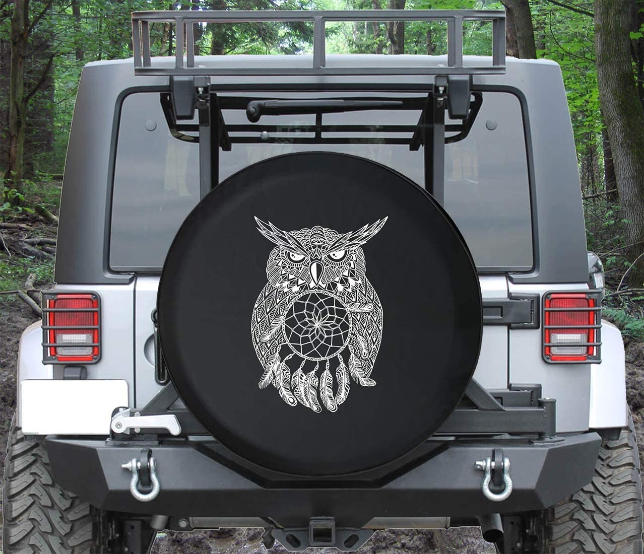 Universal Spare Tire Cover Owl Catcher 55% OFF for Fit S Dream List price
