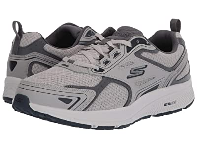 SKECHERS Go Run Consistent (Grey/Navy) Men