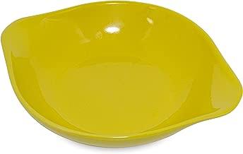 Assadeira Redonda Mondoceram Amarelo 22,1 x 18,3 x 4,1 cm