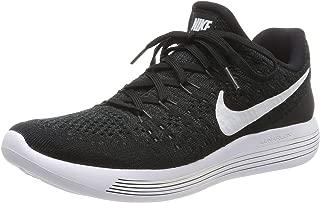 Women's Lunarepic Low Flyknit 2 Running Shoe (8.5, Black/White/Anthracite)