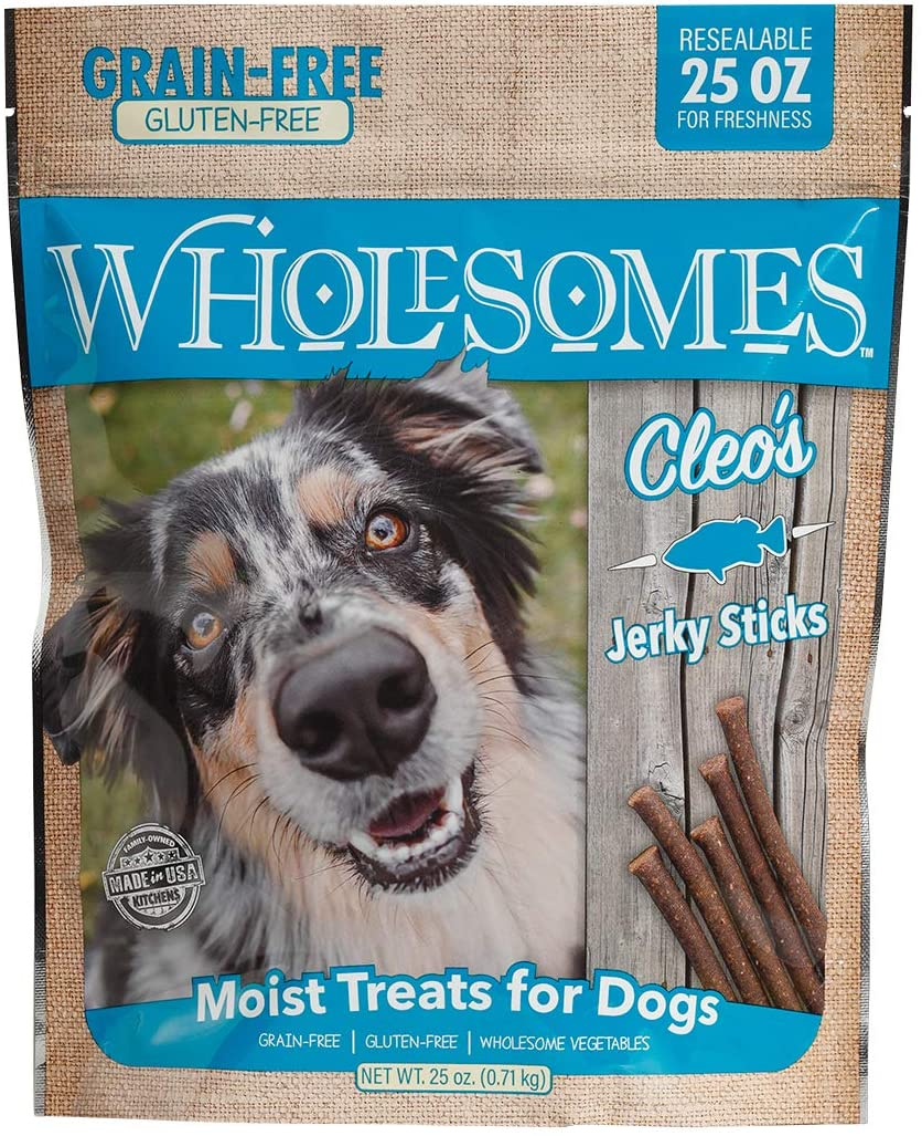 Purchase Wholesomes Cleo's Jerky Sticks Grain Free 25 oz Blu Dog Treats Max 89% OFF
