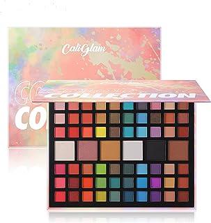 66 Colors Eyeshadow Palette Matte Shimmer Glitter Ultra Pigmented Makeup Eye Shadow Powder Waterproof Eye Shadow Palette C...