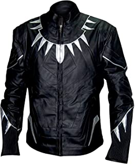 Black Panther Chadwick Aaron Boseman Wakanda Faux Leather Jacket