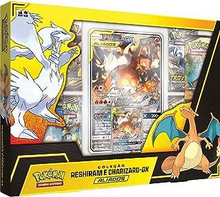 Box Pokémon Coleção Aliados Reshiram e Charizard-GX Copag Cards - Suika (⊙ꇴ⊙)(★^O^★) ʘ ͜ʖ ʘ٩(●ᴗ●)۶