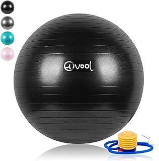 Hivool Pelota de Ejercicio para Fitness (55-85cm) Bola