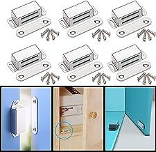 Magnetische snapper kastmagneet houdenkracht 13 kg, roestvrij staal magnetisch deursluiter, meubelmagneet deursluiting voo...