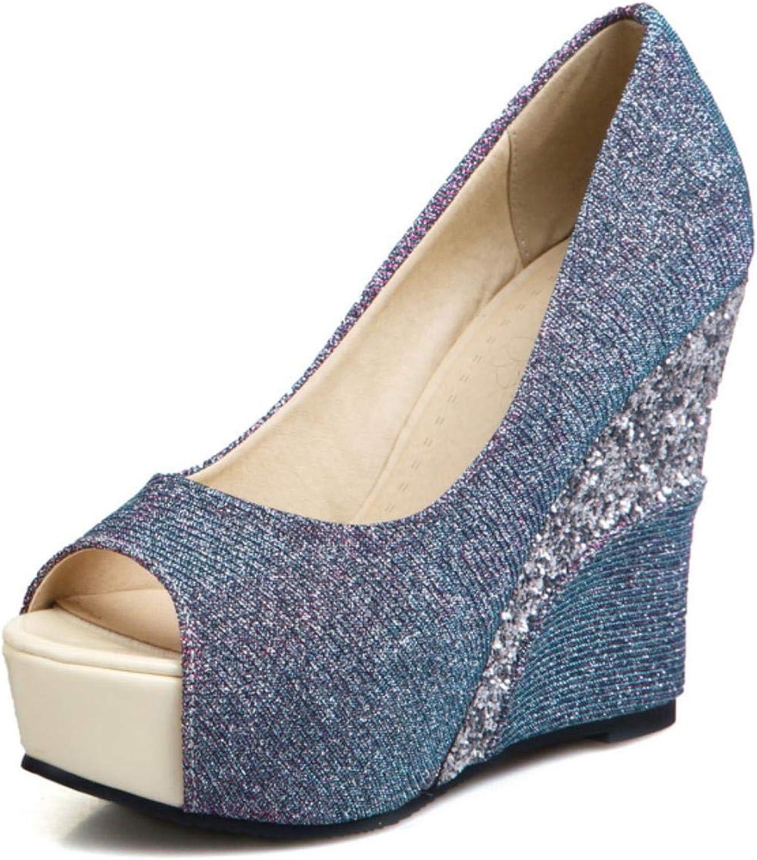 Women's open toe shallow mouth sexy high heels