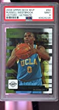 2008-09 Upper Deck MVP ULTIMATE Victory #64 Russell Westbrook ROOKIE RC NBA MINT PSA 9 Graded Basketball Card