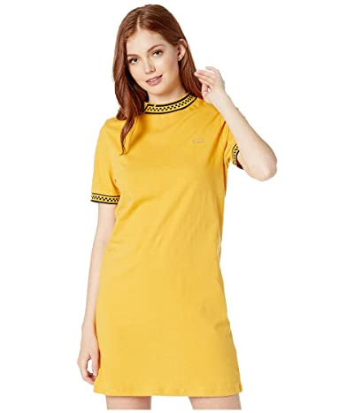 Vans High Roller V Tee Dress (Mango Mojito) Women