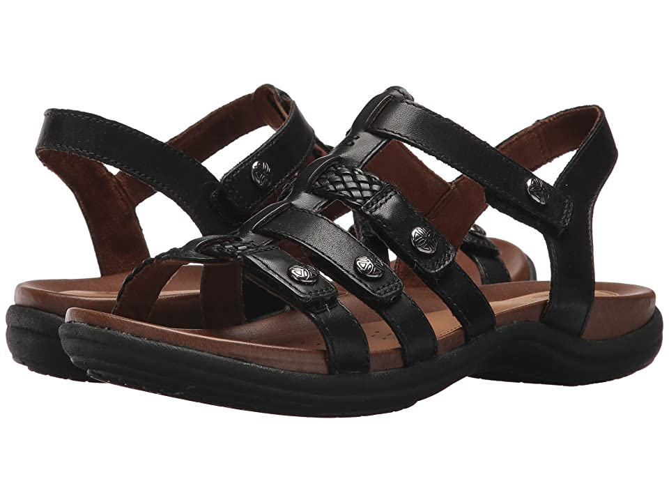 Rockport Cobb Hill Collection Cobb Hill Rubey T Strap (Black Leather) Women