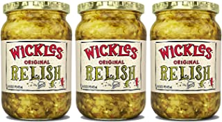 Wickles Original Relish, 16 oz (Pack - 3)