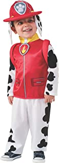 Rubies Rubie's Costume Toddler PAW Patrol Marshall Child Costume, One Color, 1-2 Years For Men, Toddler,