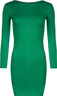 Gilet Top/ /16/ WearAll Plus Size Womens Stampato Strappy Senza Maniche Mini Vestito da Donna /26