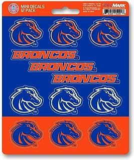 Team ProMark (TEK7V) NCAA Boise State Broncos Mini Decal, 12-Pack