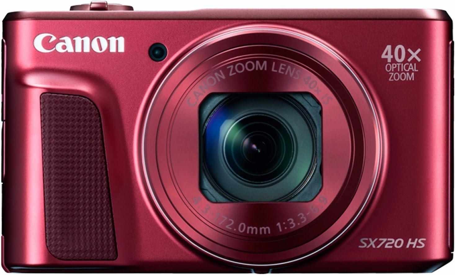 Canon PowerShot SX720 HS Renewed Red Branded goods Digital Camera Seasonal Wrap Introduction