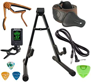 SUNYIN Guitar Stand Accesssories Kit Electric Acoustic...