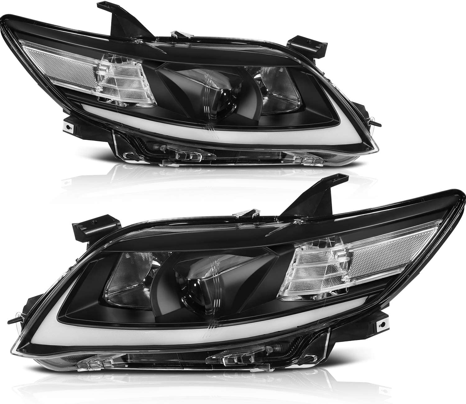 cciyu Headlight Assembly fit for Max 78% OFF TOYOTA Camry 2011 Be super welcome Dri 2010