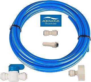 Aqualogis filtro acqua set di collegamento (kit-7) per frigoriferi Whirlpool Hotpoint Ariston American Style