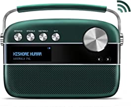 Saregama Carvaan 2.0 Portable Digital Music Player (with 20,000 Songs) (with WiFi, Green)