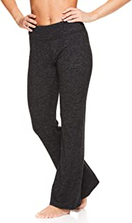 Women's Bootcut Yoga Pants - Mid Rise Waist Straight Leg Athleisure Sweatpants