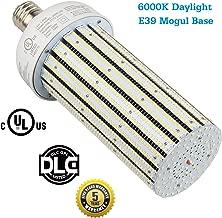 250W LED Corn Light Bulb Replace 1000Watt Metal Halide Warehouse High Bay Lights, HID, HPS Retrofit, Large Mogul E39 Base, 6000K Daylight White in Workshop, Storage Room (250Watt 6000K CoolWhite)