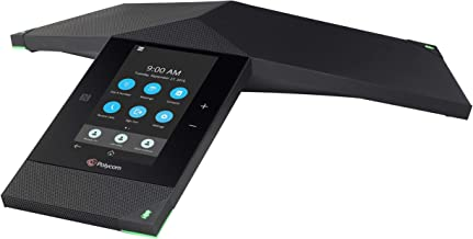 $599 » Polycom Realpresence Trio 8800 2200-66070-019 Lync/Skype for Business Edition PoE Conference Phone, Black (Renewed)